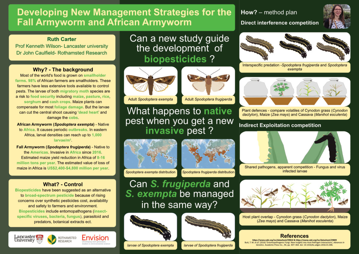 Ruth Carter / Envision / Developing new management strategies for the Fall Armyworm and African Armyworm